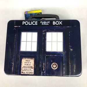 New Doctor Who Top Trumps Card Collector Tin